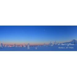 Last light on Riisitunturi - HD - Wallpaper