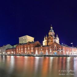 Kanavaranta ja Uspenskin katedraali - Poster
