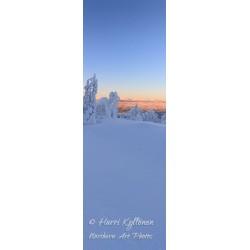 Vertical winter vista - HD - Poster