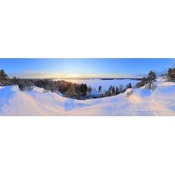 Kasavuoren talvinäkymä - Juliste