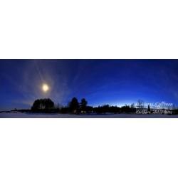 Pohjoisen sininen hetki - Juliste