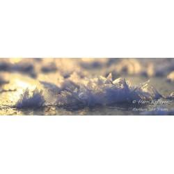 Lumihiutaleet jäällä II - Juliste