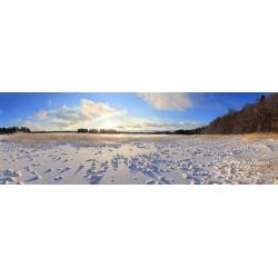 Soukanniemen talvinäkymä - Juliste