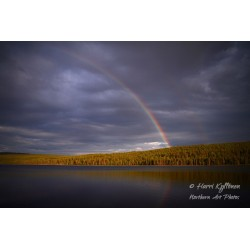Rainbow at Mustajärvi III -...
