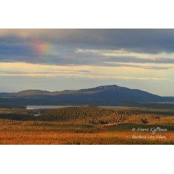 Nuorunen and rainbow II - Poster