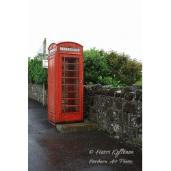 Old telephone booth - Poster