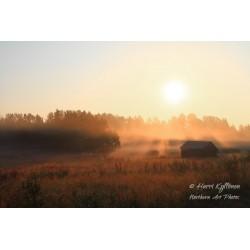 Aikaisen aamun usva - Palapeli