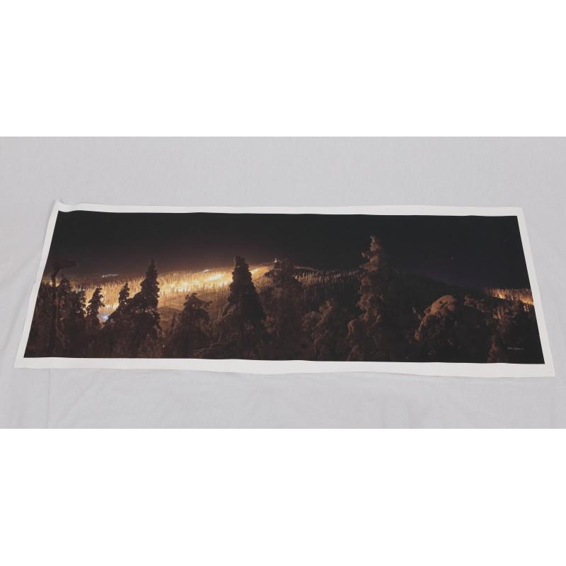 Ruka yöllä - 158x58cm Canvas-juliste