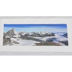 Alpit - 38,2x13,5cm Canvas-juliste