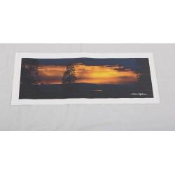 Taivas tulessa - 70x25cm Canvas-juliste