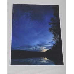 Sininen Yö - 105x70cm juliste