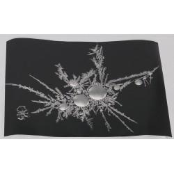 Erilainen lumihiutale - 70x50cm juliste