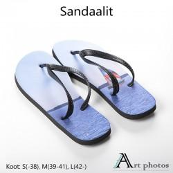 Sandaalit omasta kuvasta