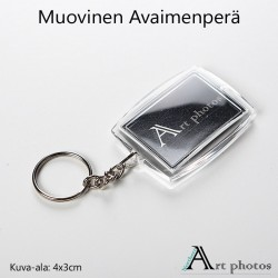 Customized image keychain