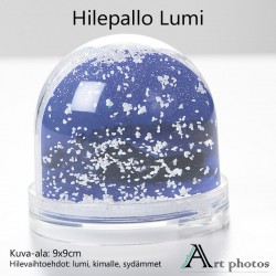 Hilepallo lumi omasta kuvasta
