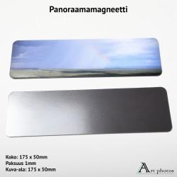 Customized Panorama Photo Magnet