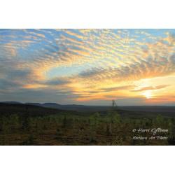 Auringonlaskunäkymä III -...