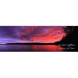 Fire sky - HD - Panorama...