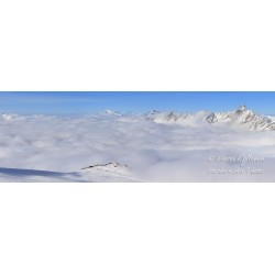 Above the clouds - HD - Panorama Puzzle