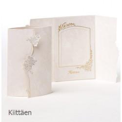 3-Osainen ruusukiitoskortti