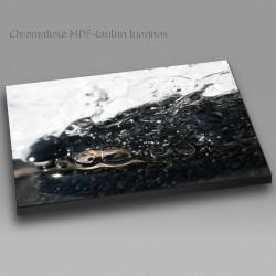 Lumi sulaa - Chromaluxe taulu