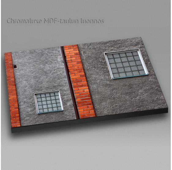 Kaksi ikkunaa - Chromaluxe taulu