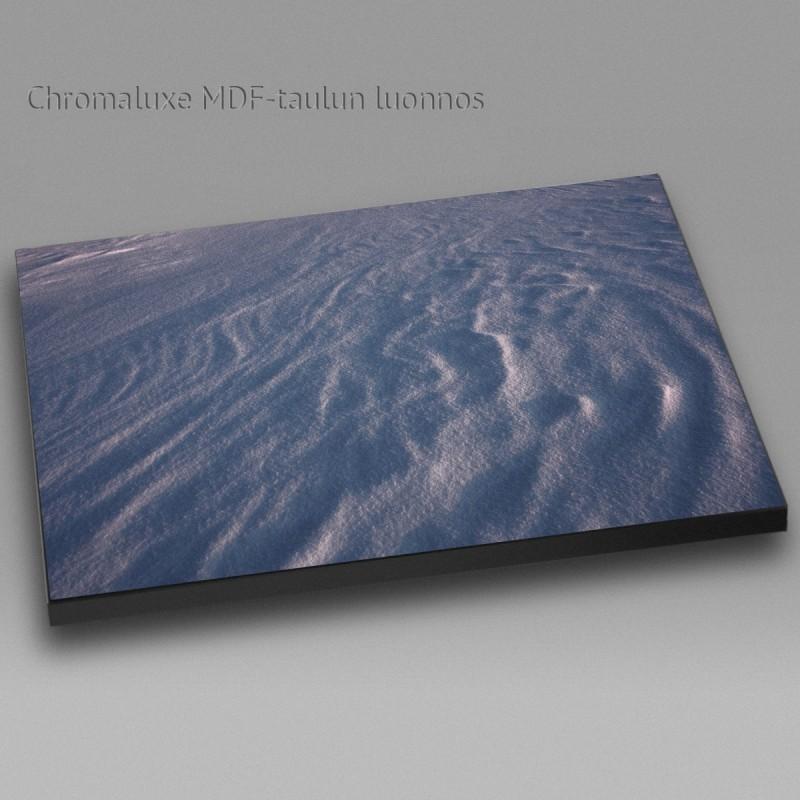 Lumen pinta - Chromaluxe taulu