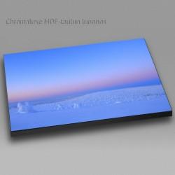 Talvi-iltapäivä Riisitunturissa - Chromaluxe taulu