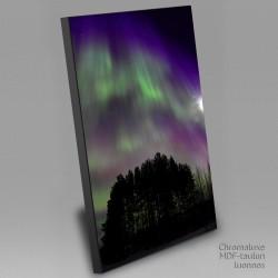 Auroras up high -...