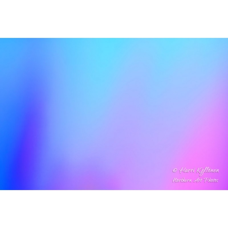 Sinisen sävyjä - Canvas-taulu