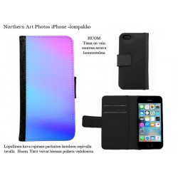 Sinisen sävyjä - iPhone -kotelo