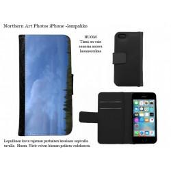 Sininen ja vihreä - iPhone -kotelo