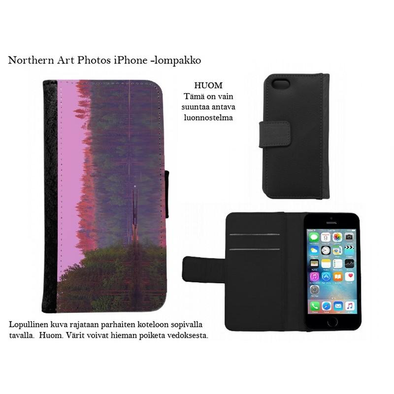Kesäyön värit - iPhone -kotelo