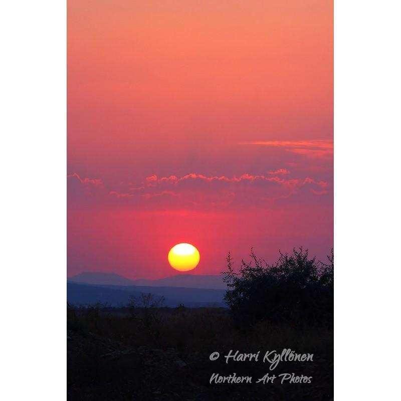 Bulgarialainen auringonlasku - Canvas-taulu