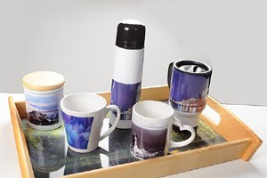 Mugs and bottles