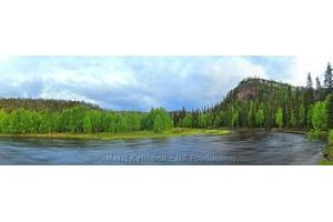 Kesä Panoraama canvas-taulut verkkokaupastamme
