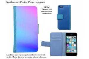 Abstraktit iPhone-lompakkokotelot