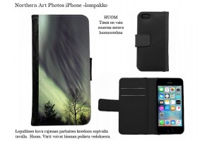 Revontulet iPhone-lompakkokotelot