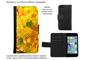 Autumn colours iPhone - wallet cases