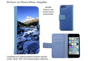 Mountains and fjelds iPhone - wallet cases