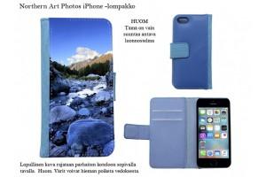 Vuoret ja tunturit iPhone-lompakkokotelot