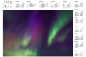 Revontulet vuosikalenterit  - Northern Art Photos | Kattava valikoima laadukkaita vuosikalentereita