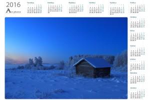 Talvi vuosikalenterit  - Northern Art Photos | Kattava valikoima laadukkaita vuosikalentereita