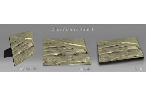 Abstraktit chromaluxe-taulut