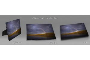 Kesä chromaluxe-taulut